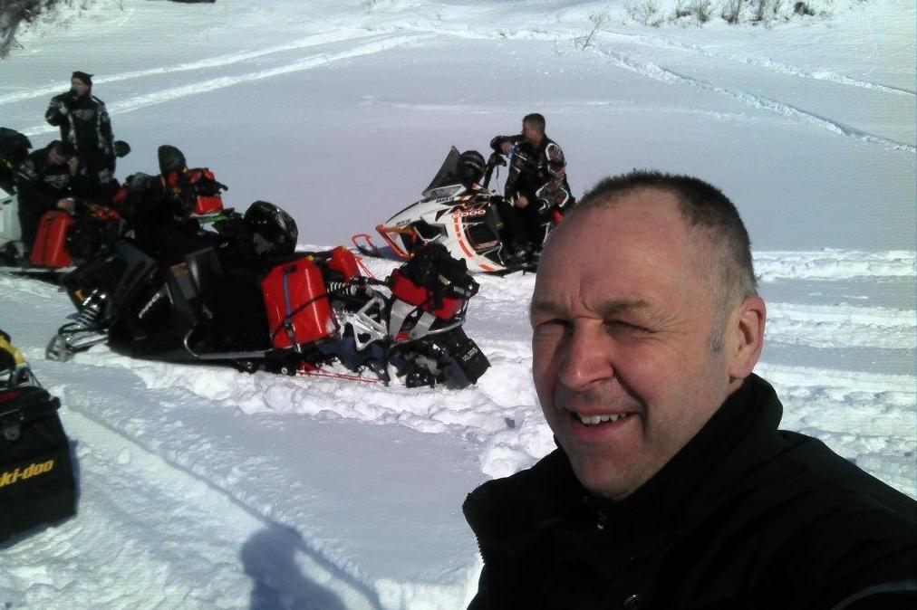 Une bonne randonnée entre amateurs de neige molle et de vitesse! Photo de Patrice Lacroix.