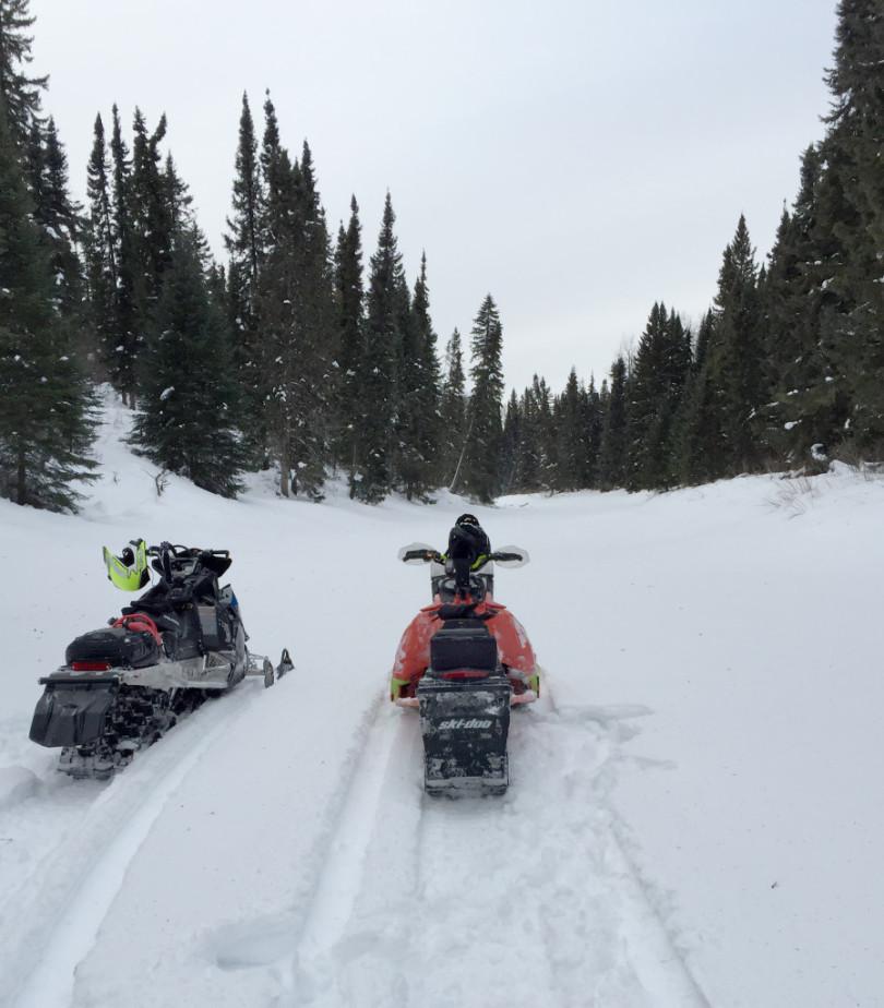 Faire voler la neige en terrain plat