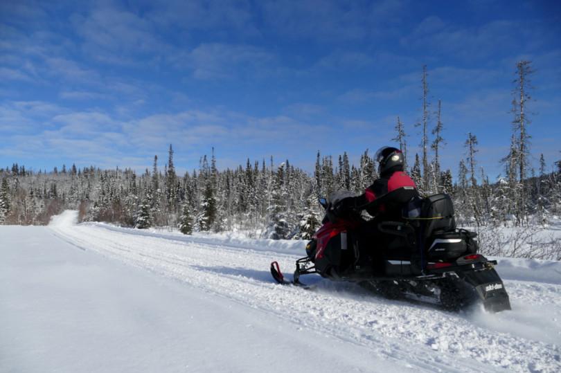 Le Corridor du Nord à motoneige…
