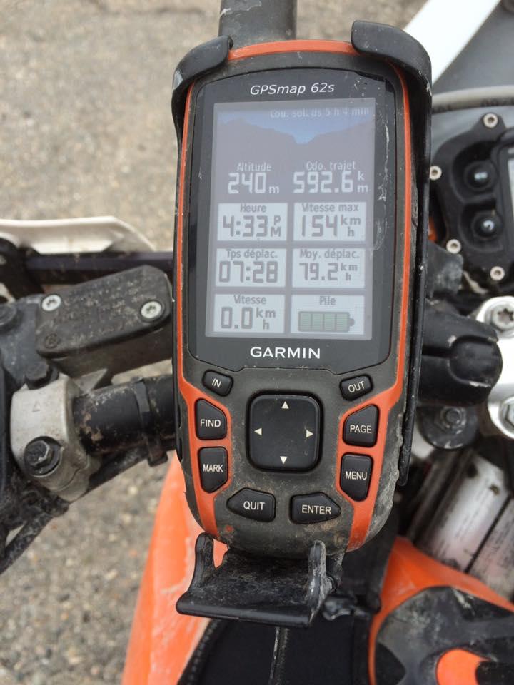 Beaule_GPS 592 km