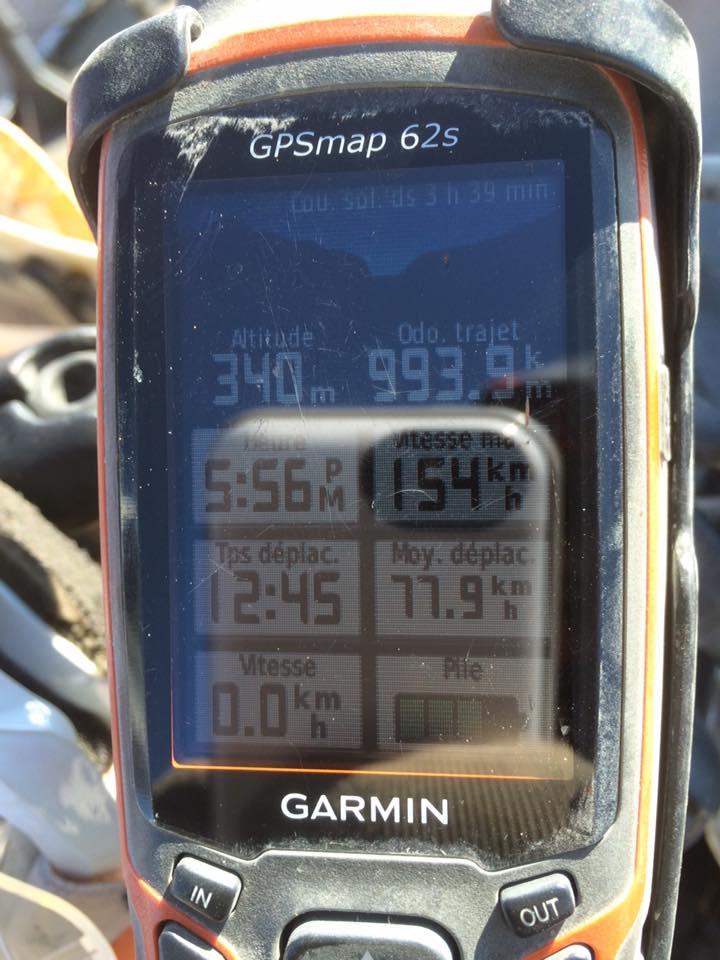 Beaule_GPS 993 km