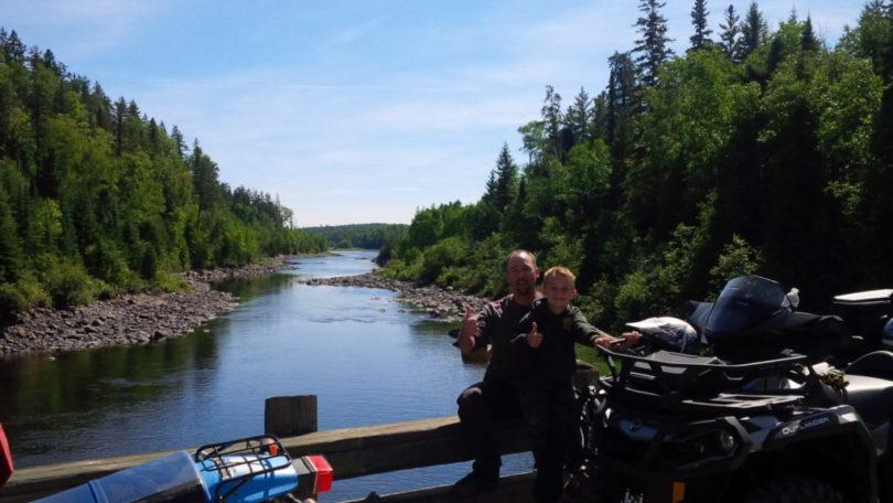 Patrick Bouchard, guide: vivre en plein dans les sentiers